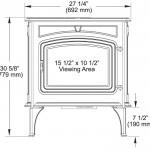 Unit Dimensions: Front View