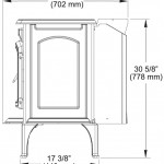 Unit Dimensions: Side View