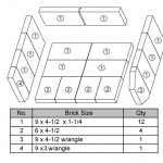 Firebox Brick Layout