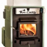Max Caddy wood-oil-electric trio furnace