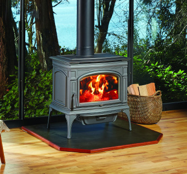 Rockport Hybrid-Fyre Cast Iron Wood Stove