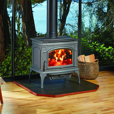 Rockport Hybrid-Fyre Cast Iron Wood Stove