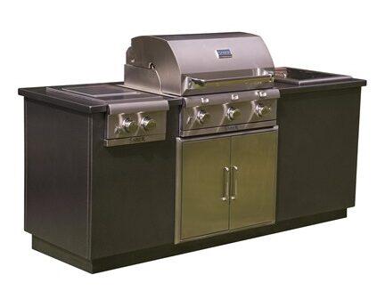 I Series EZ Outdoor Kitchen – Silver