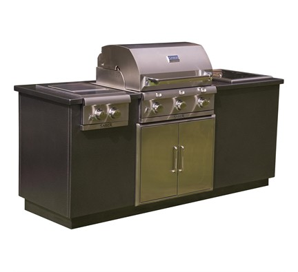 I Series EZ Outdoor Kitchen – Silver